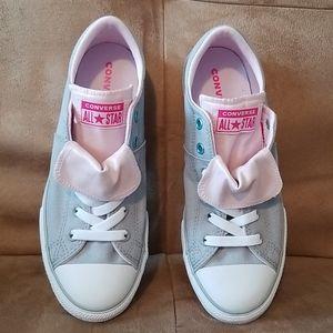 Gray/Pink Converse